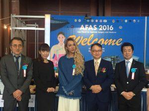 アジア美容医学フォーラム2016in韓国「服部式美容バンデージ発表」